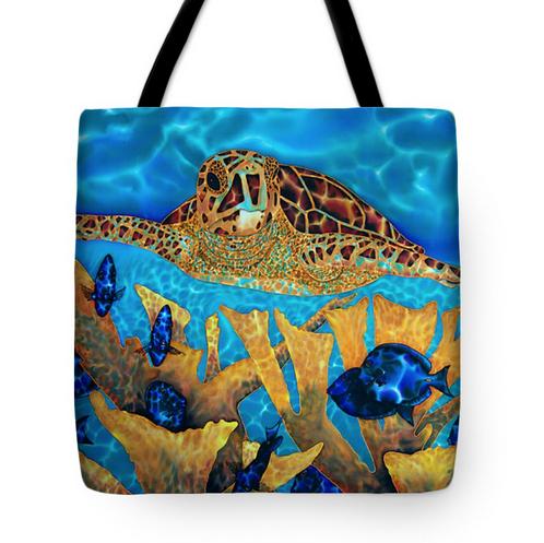 Tote bag on fine Art America