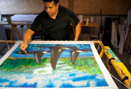 JEAN-BAPTISTE : World's Best Silk Painting Artist