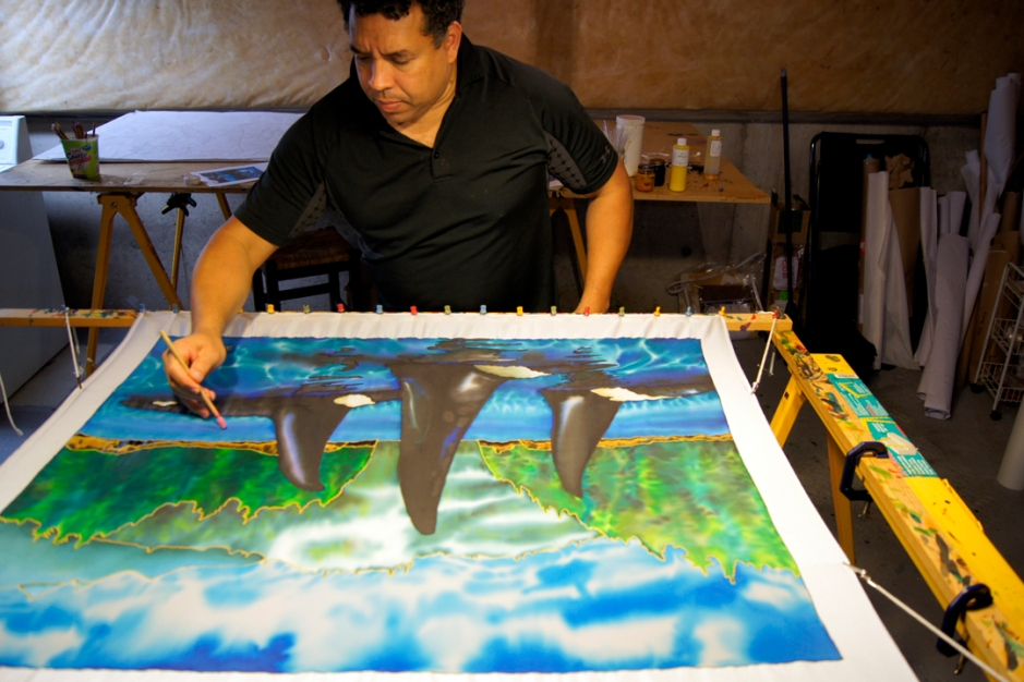 JEAN-BAPTISTE : World's Best Silk Painting Artist