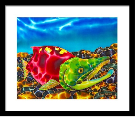 CANADIAN FRAMED FINE ART PRINTS - JEAN-BAPTISTE