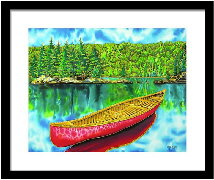 CANADIAN FRAMED FINE ART PRINTS - JEAN-BAPTISTE
