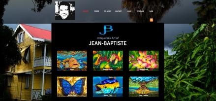 Silk Painting - Jean-Baptiste