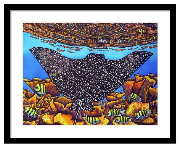 FINE ART AMERICA | Daniel Jean-Baptiste Prints | Eagle Ray |