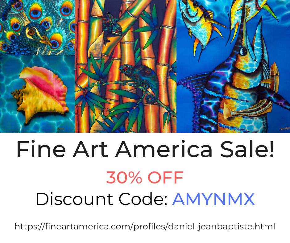 Fine Art America Discount Code / JEAN-BAPTISTE Collection.